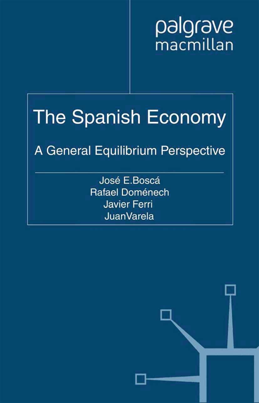 Boscá, José E. - The Spanish Economy, ebook