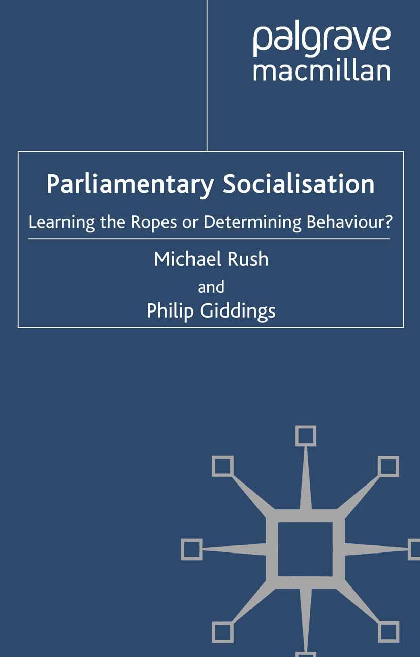 Giddings, Philip - Parliamentary Socialisation, ebook
