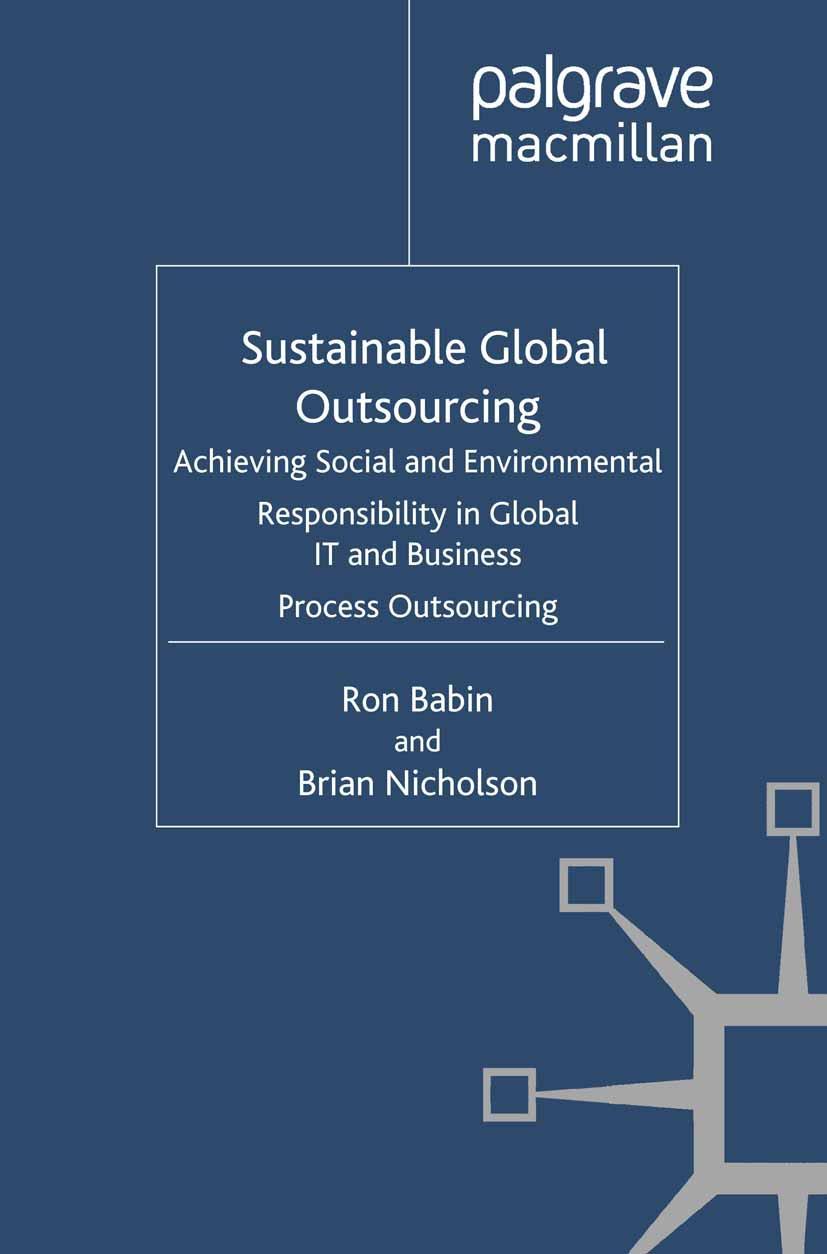 Babin, Ron - Sustainable Global Outsourcing, ebook