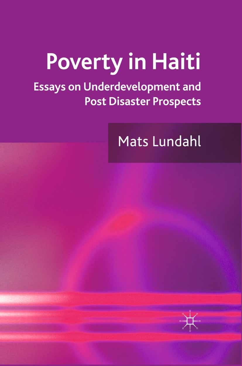 Lundahl, Mats - Poverty in Haiti, ebook