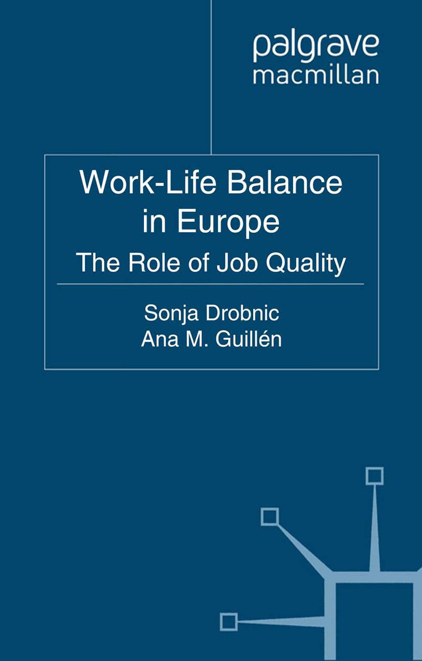 Drobnič, Sonja - Work-Life Balance in Europe, ebook