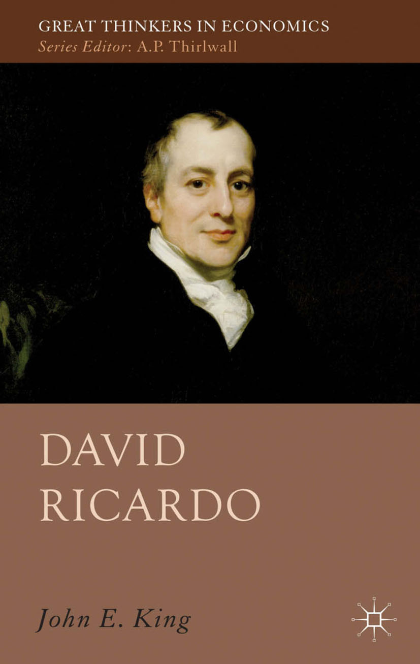 King, John E. - David Ricardo, ebook