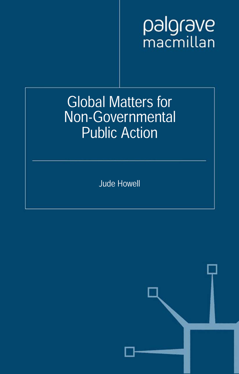 Howell, Jude - Global Matters for Non-Governmental Public Action, ebook