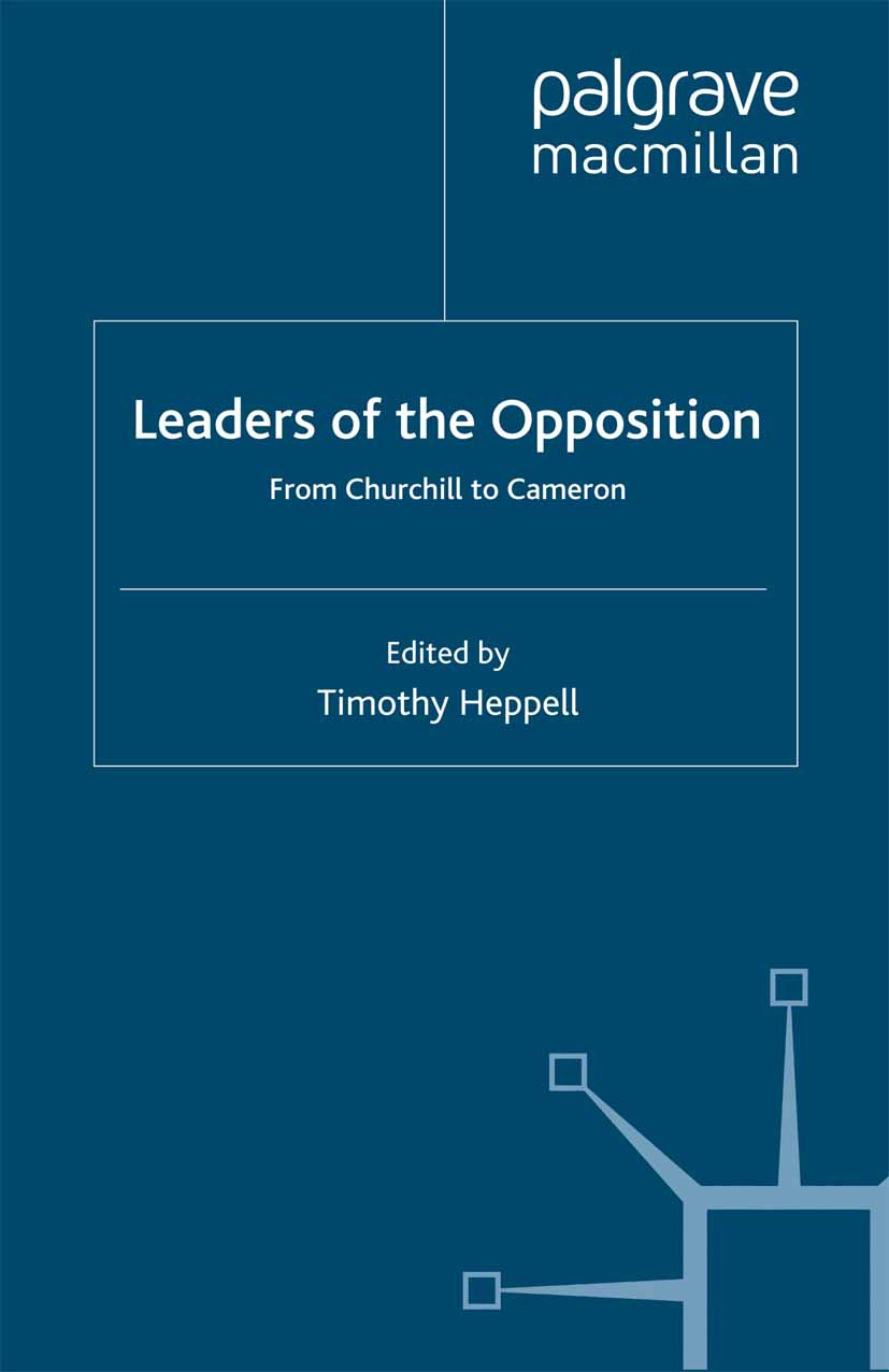 Heppell, Timothy - Leaders of the Opposition, ebook