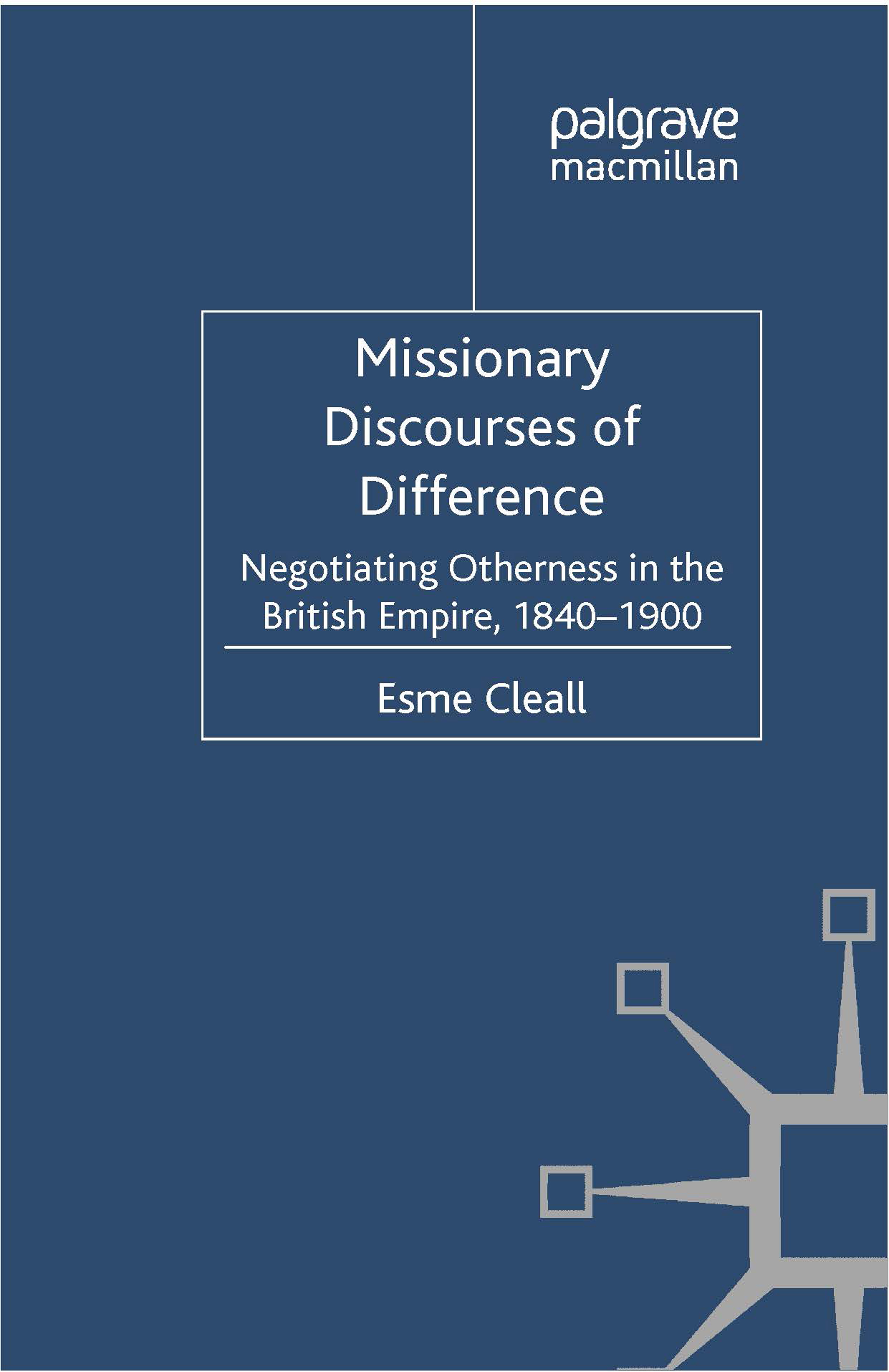 Cleall, Esme - Missionary Discourses of Difference, ebook