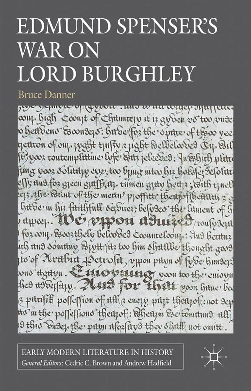 Danner, Bruce - Edmund Spenser's War on Lord Burghley, ebook