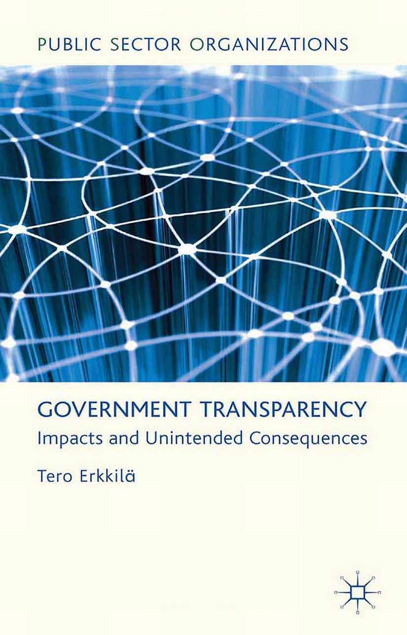 Erkkilä, Tero - Government Transparency, ebook