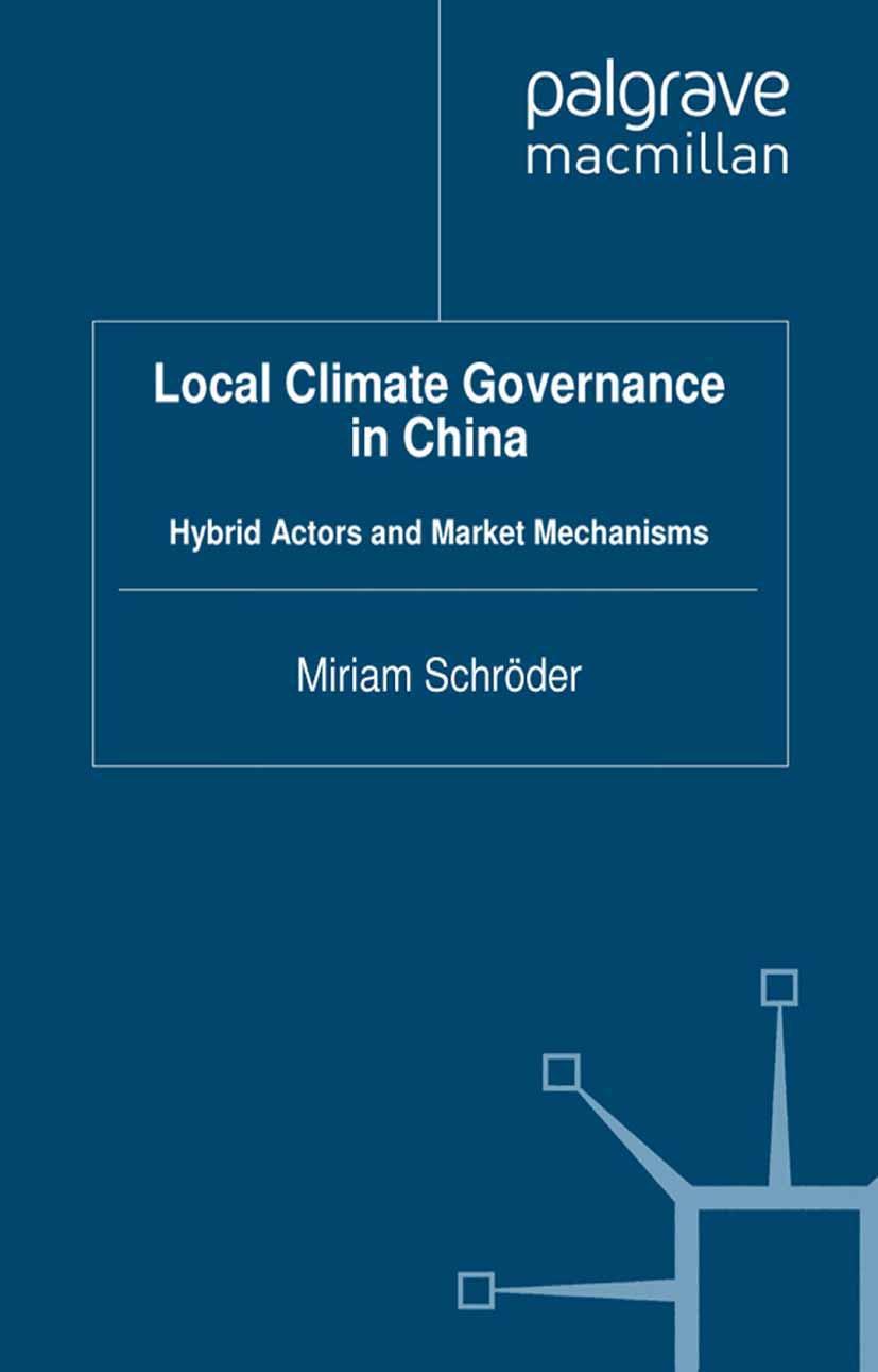 Schröder, Miriam - Local Climate Governance in China, ebook