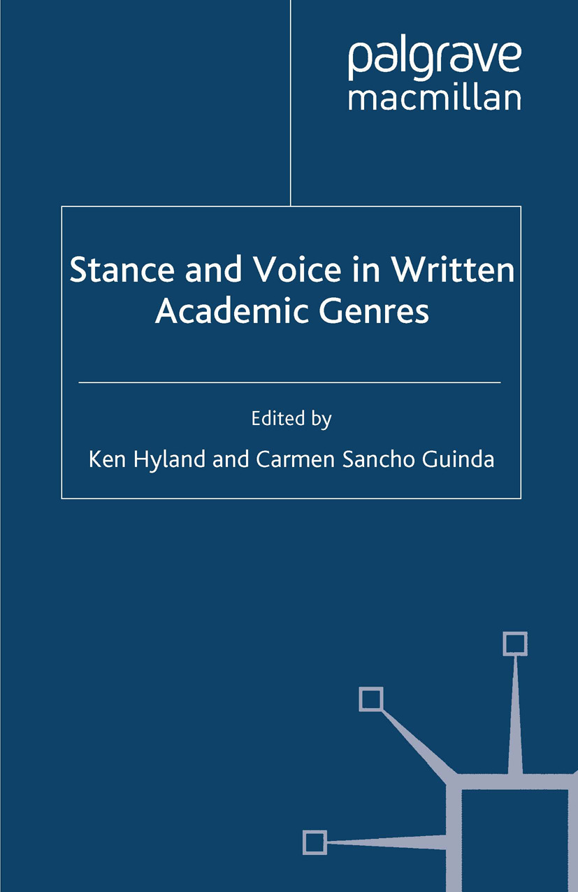 Guinda, Carmen Sancho - Stance and Voice in Written Academic Genres, ebook