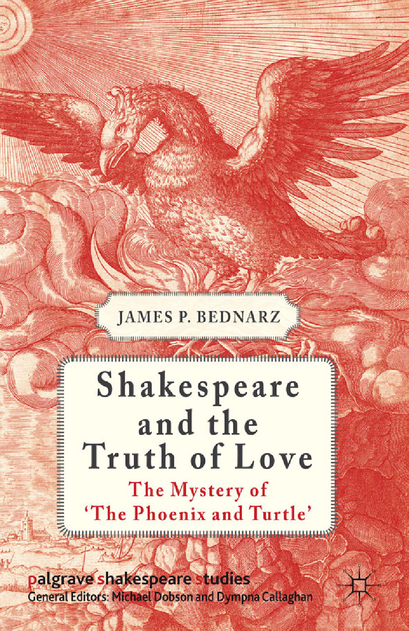 Bednarz, James P. - Shakespeare and the Truth of Love, ebook