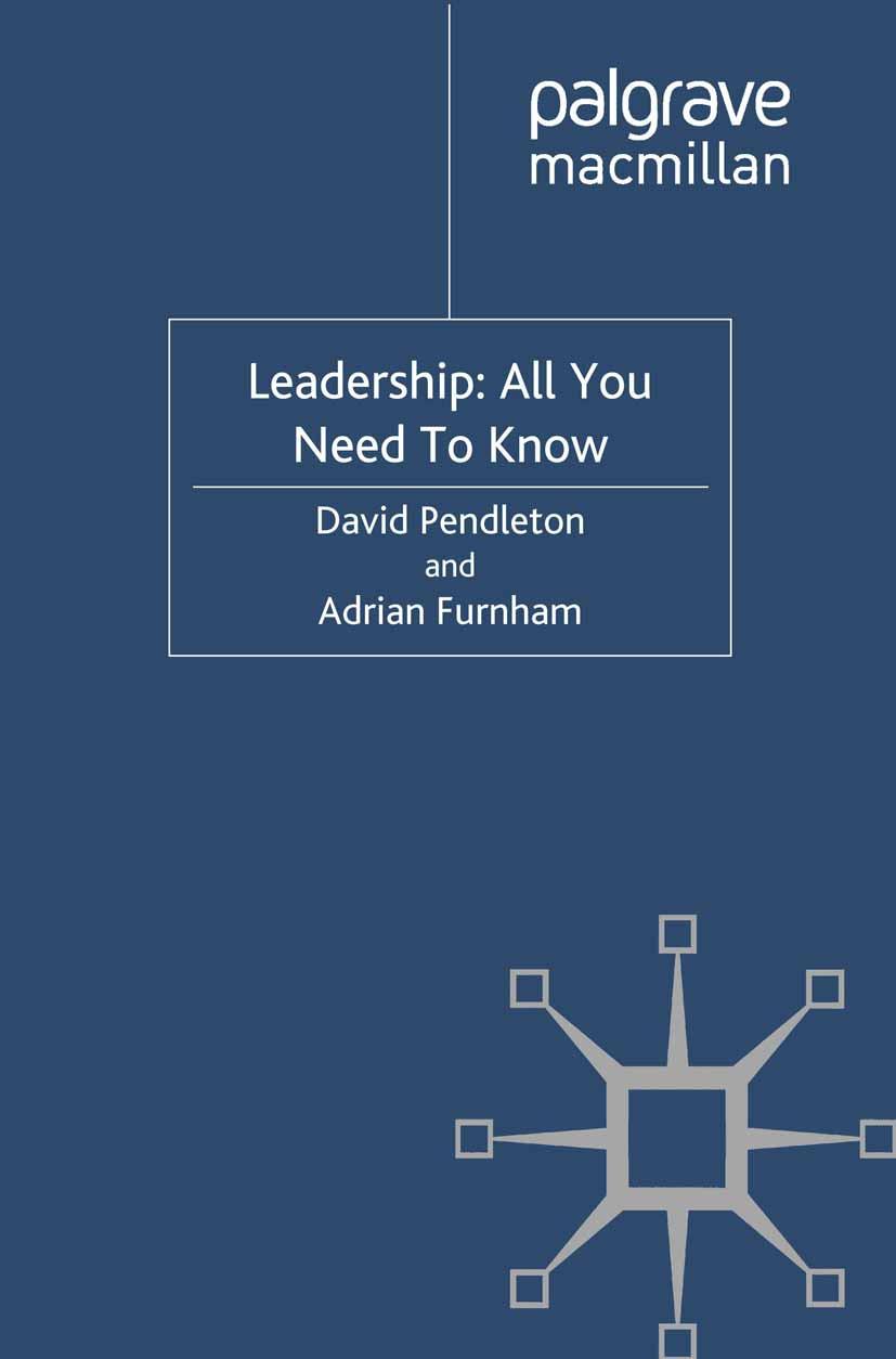 Furnham, Adrian - Leadership: All You Need To Know, e-bok