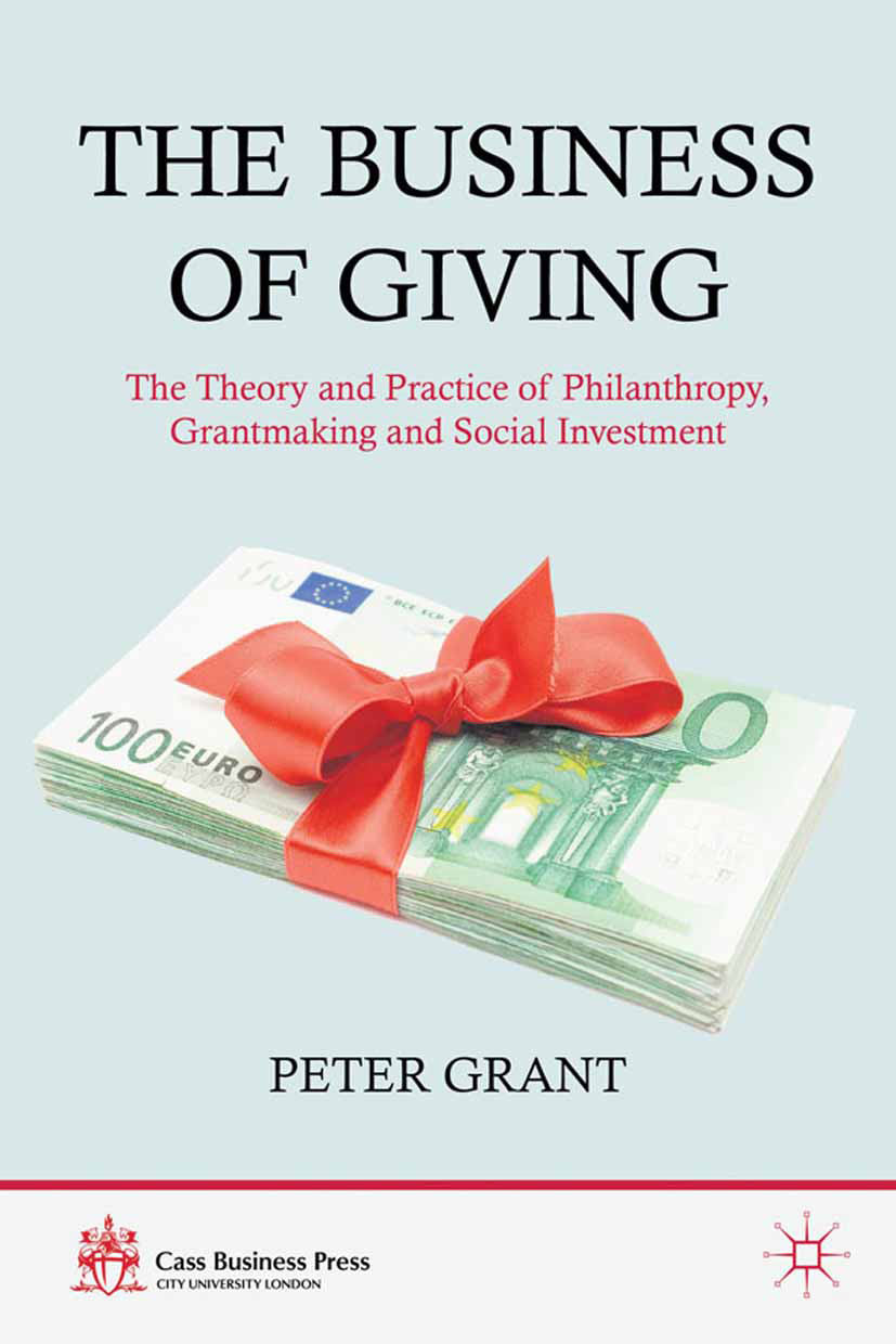 Grant, Peter - The Business of Giving, ebook
