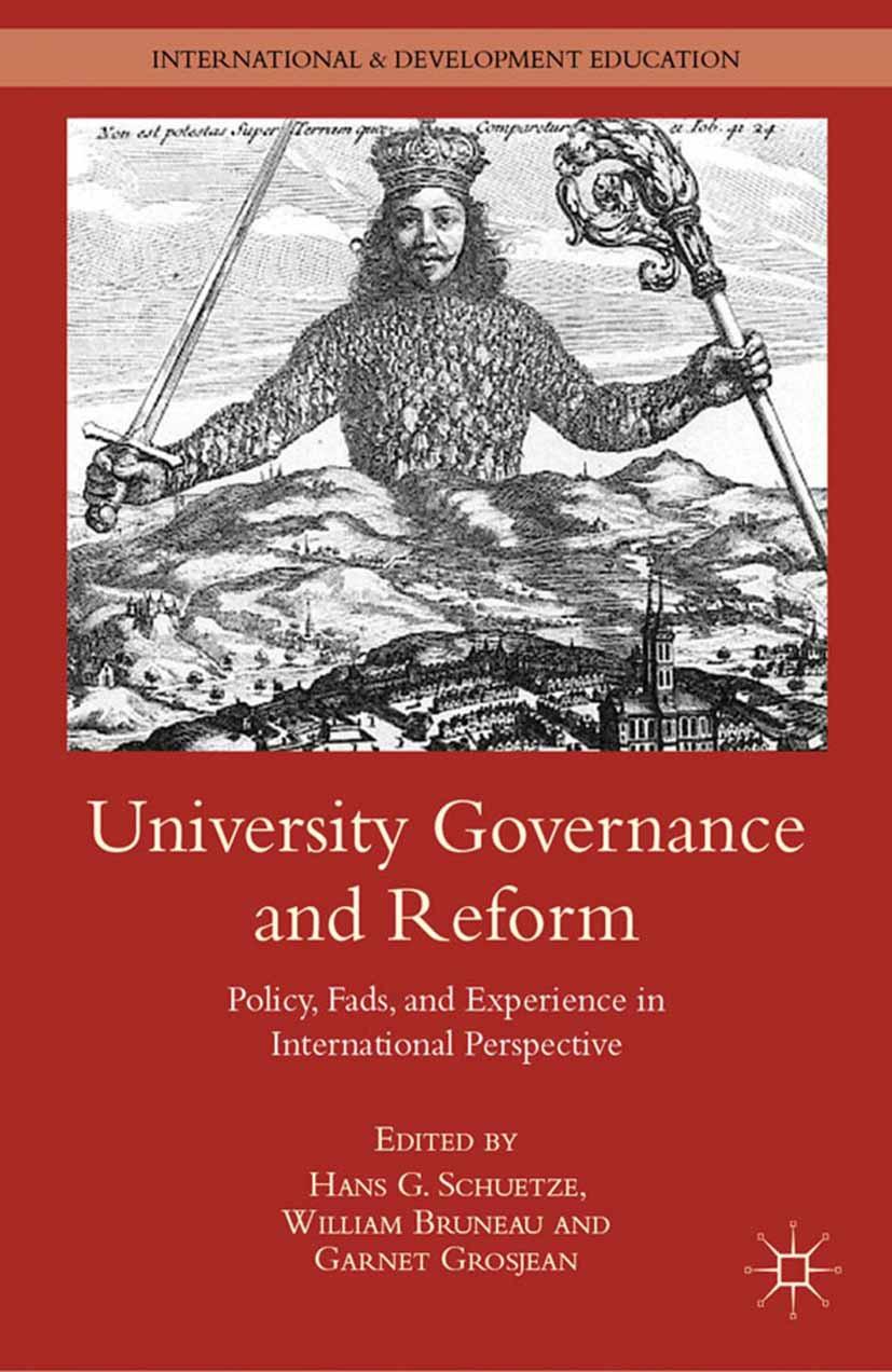Bruneau, William - University Governance and Reform, ebook