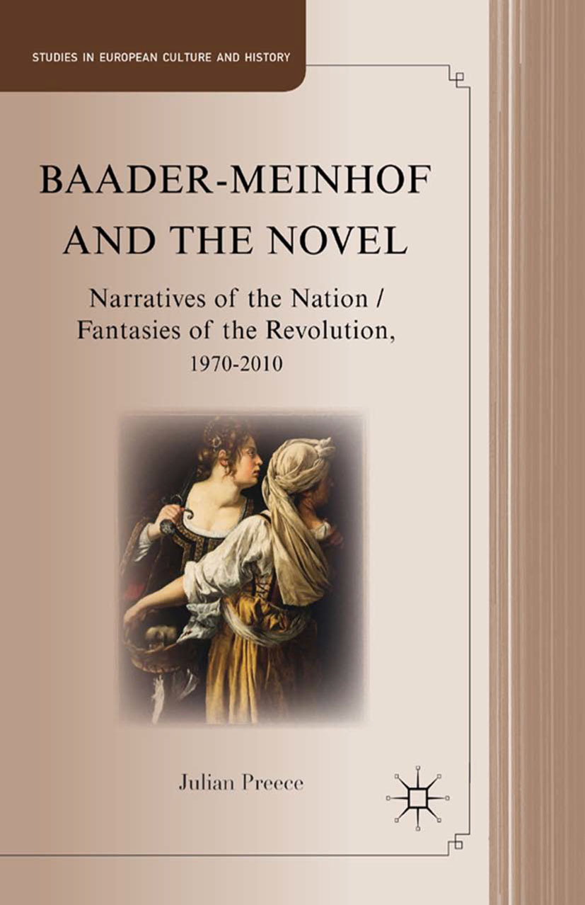 Preece, Julian - Baader-Meinhof and the Novel, ebook