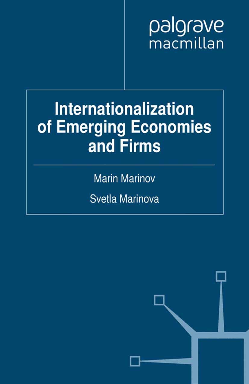 Marinov, Marin - Internationalization of Emerging Economies and Firms, ebook