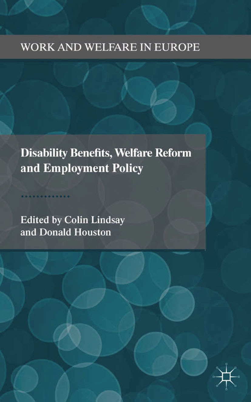 Houston, Donald - Disability Benefits, Welfare Reform and Employment Policy, ebook