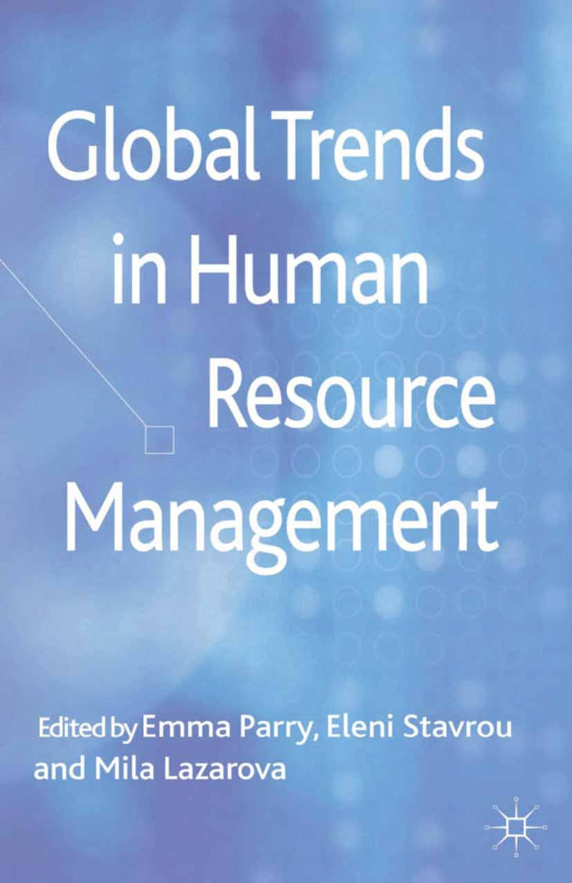 Lazarova, Mila - Global Trends in Human Resource Management, ebook
