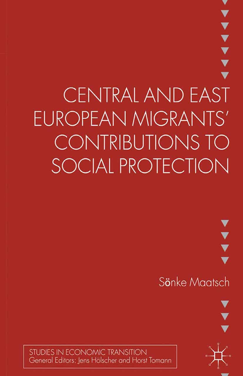 Maatsch, Sönke - Central and East European Migrants' Contributions to Social Protection, ebook