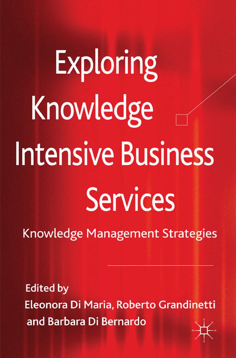 Bernardo, Barbara - Exploring Knowledge-Intensive Business Services, ebook