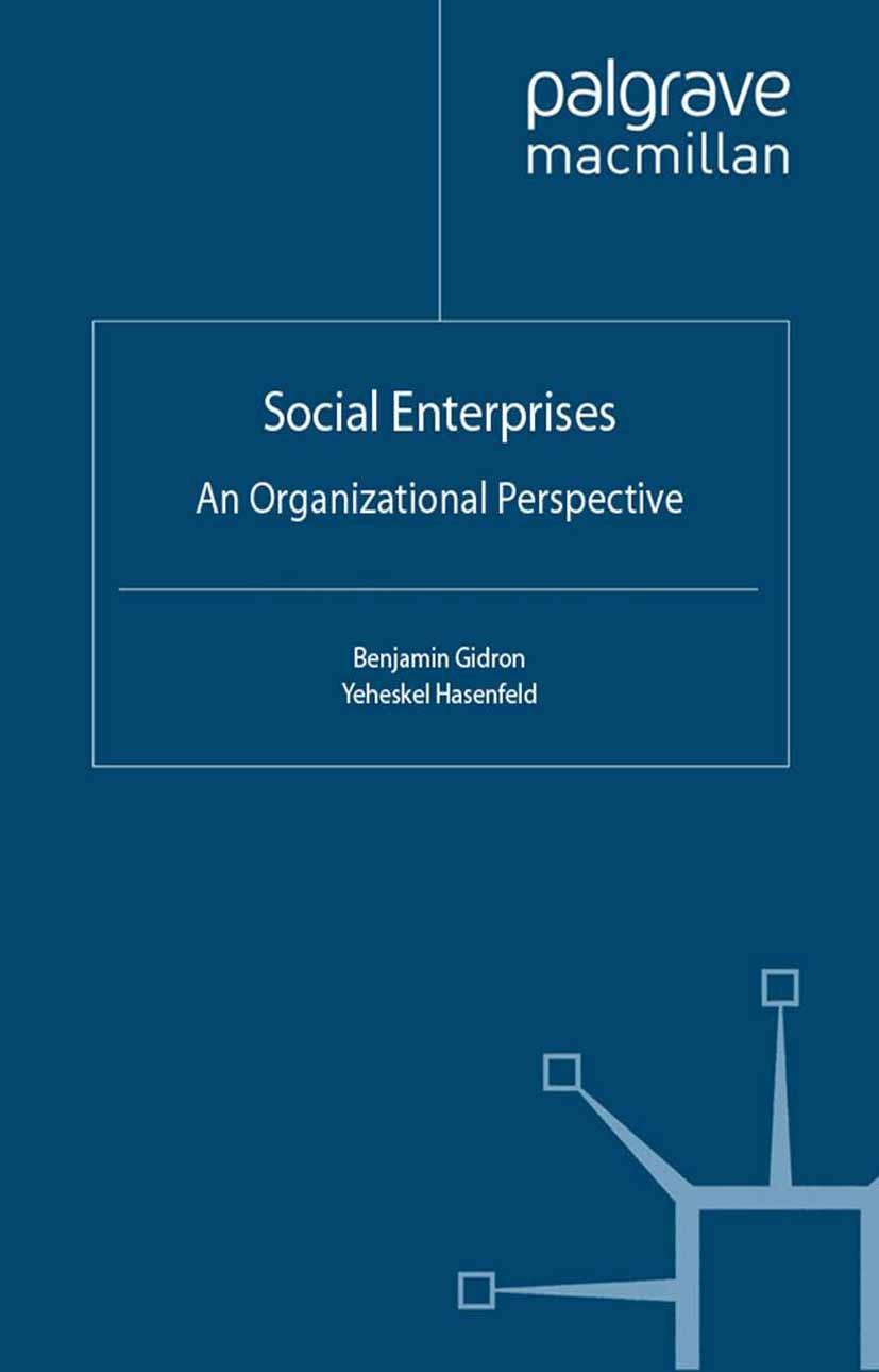 Gidron, Benjamin - Social Enterprises, ebook