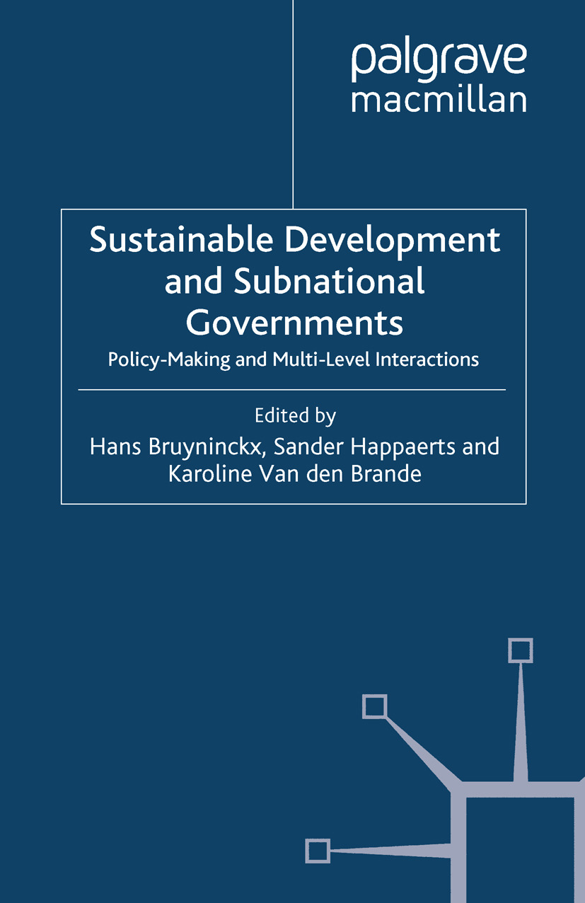 Brande, Karoline - Sustainable Development and Subnational Governments, ebook
