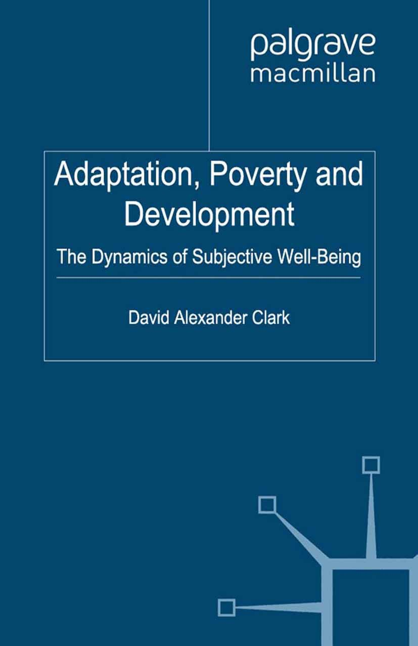 Clark, David Alexander - Adaptation, Poverty and Development, ebook