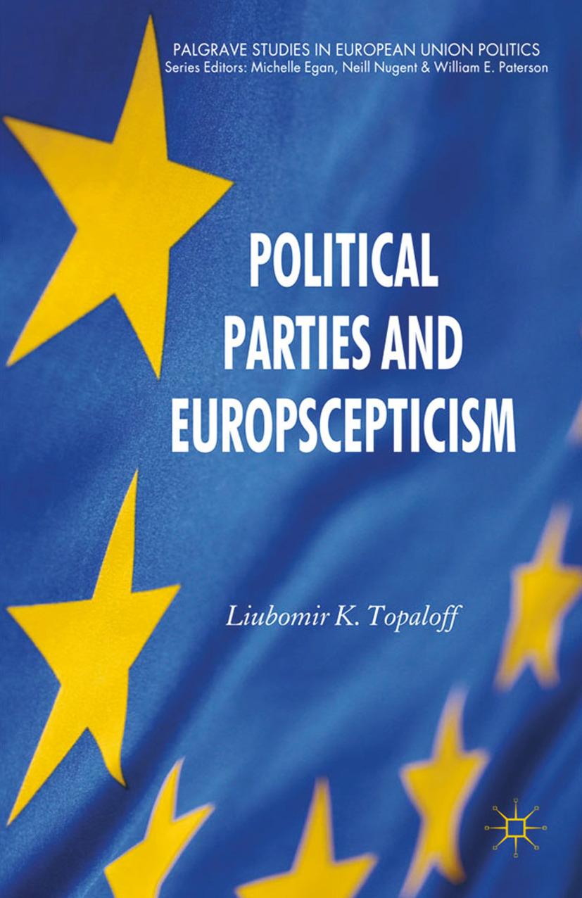 Topaloff, Liubomir K. - Political Parties and Euroscepticism, ebook