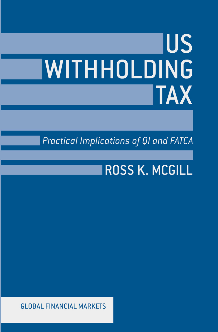 McGill, Ross K. - US Withholding Tax, ebook