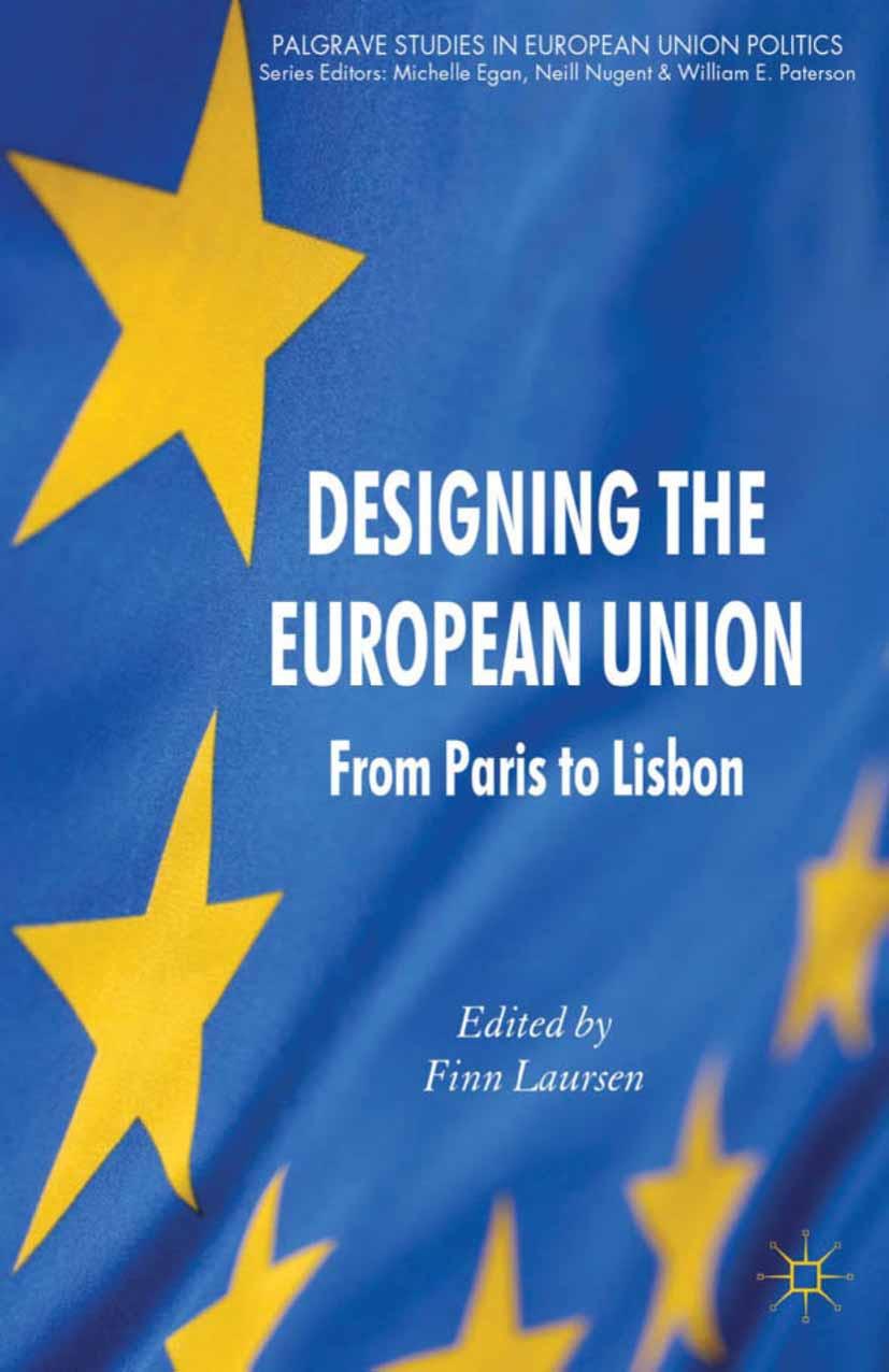 Laursen, Finn - Designing the European Union, ebook