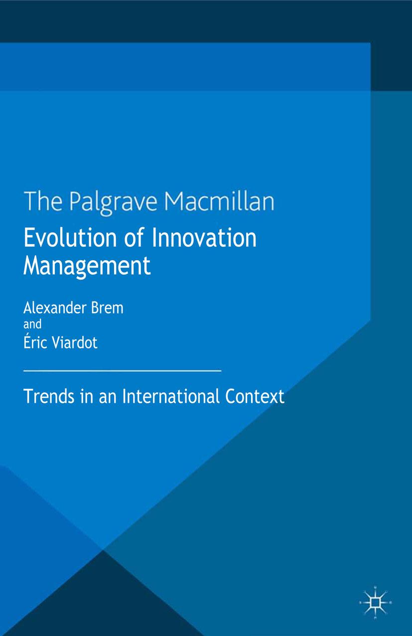 Brem, Alexander - Evolution of Innovation Management, ebook