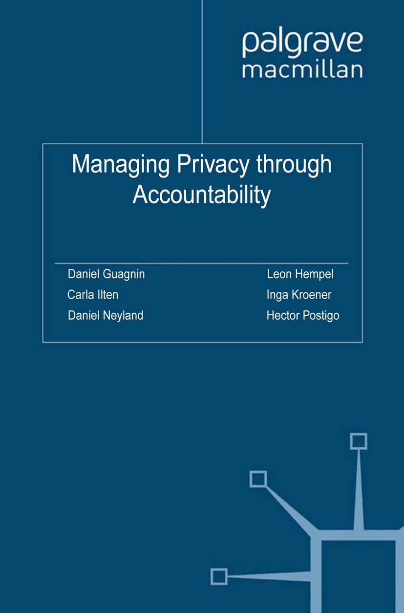 Guagnin, Daniel - Managing Privacy through Accountability, ebook