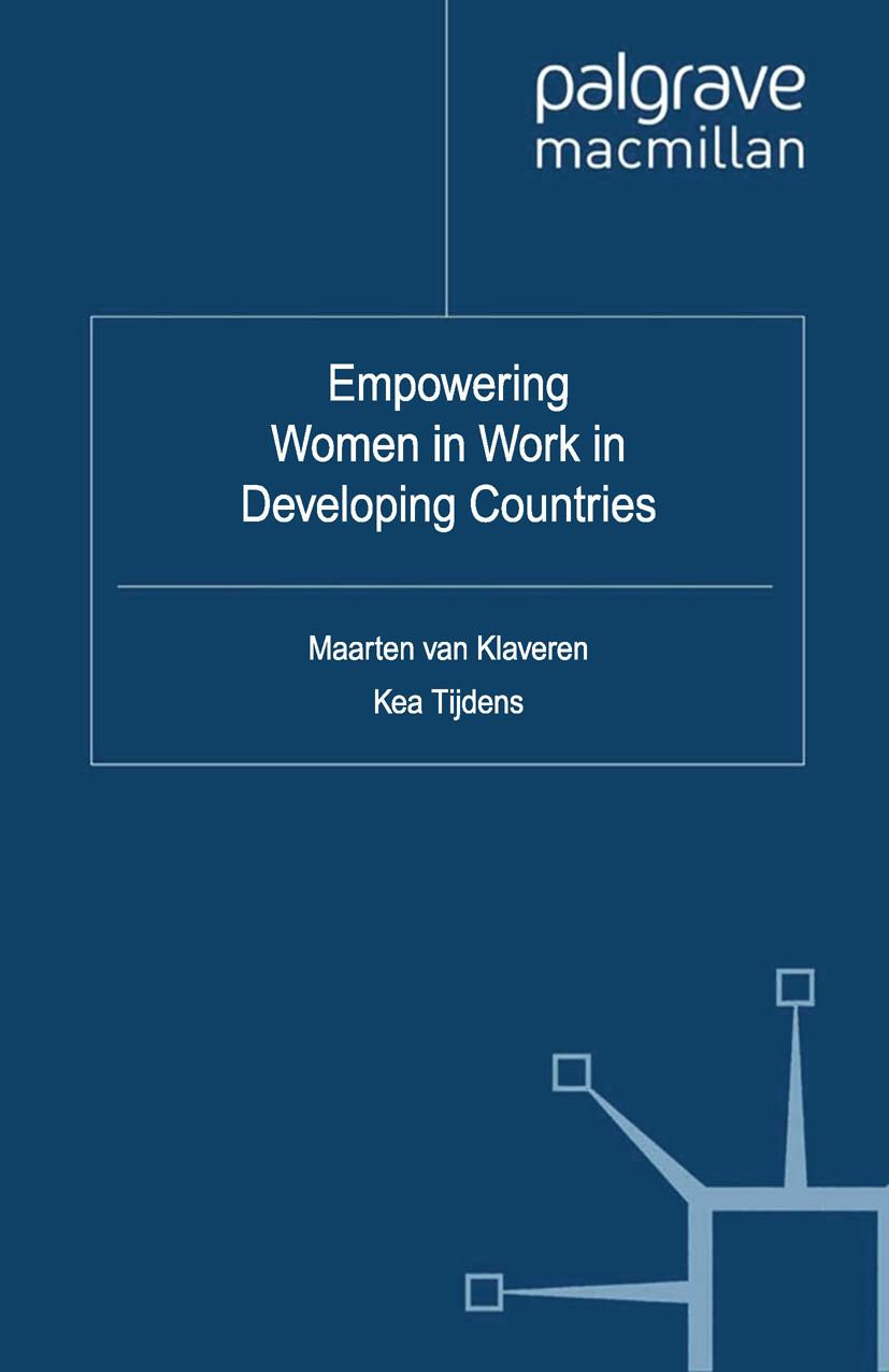 Klaveren, Maarten - Empowering Women in Work in Developing Countries, ebook