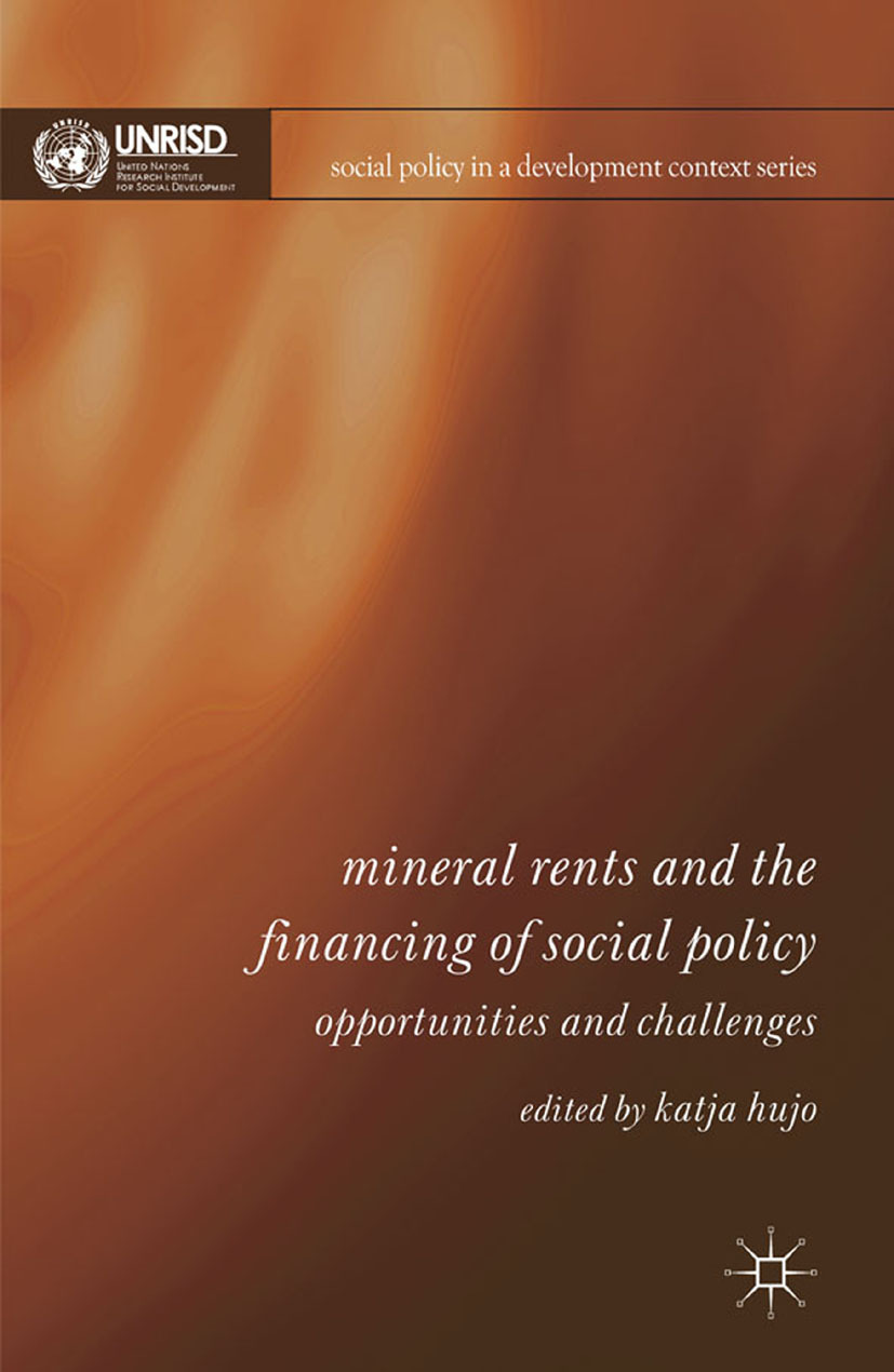 Hujo, Katja - Mineral Rents and the Financing of Social Policy, ebook
