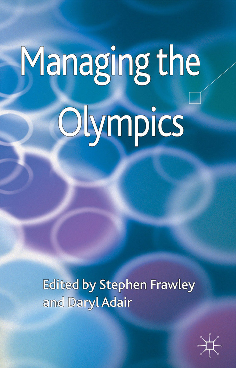 Adair, Daryl - Managing the Olympics, ebook