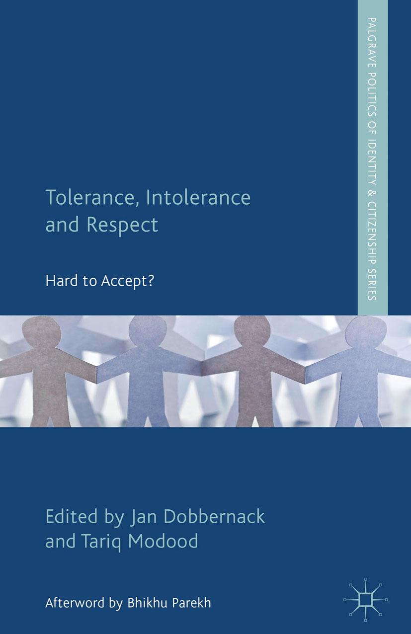 Dobbernack, Jan - Tolerance, Intolerance and Respect, ebook