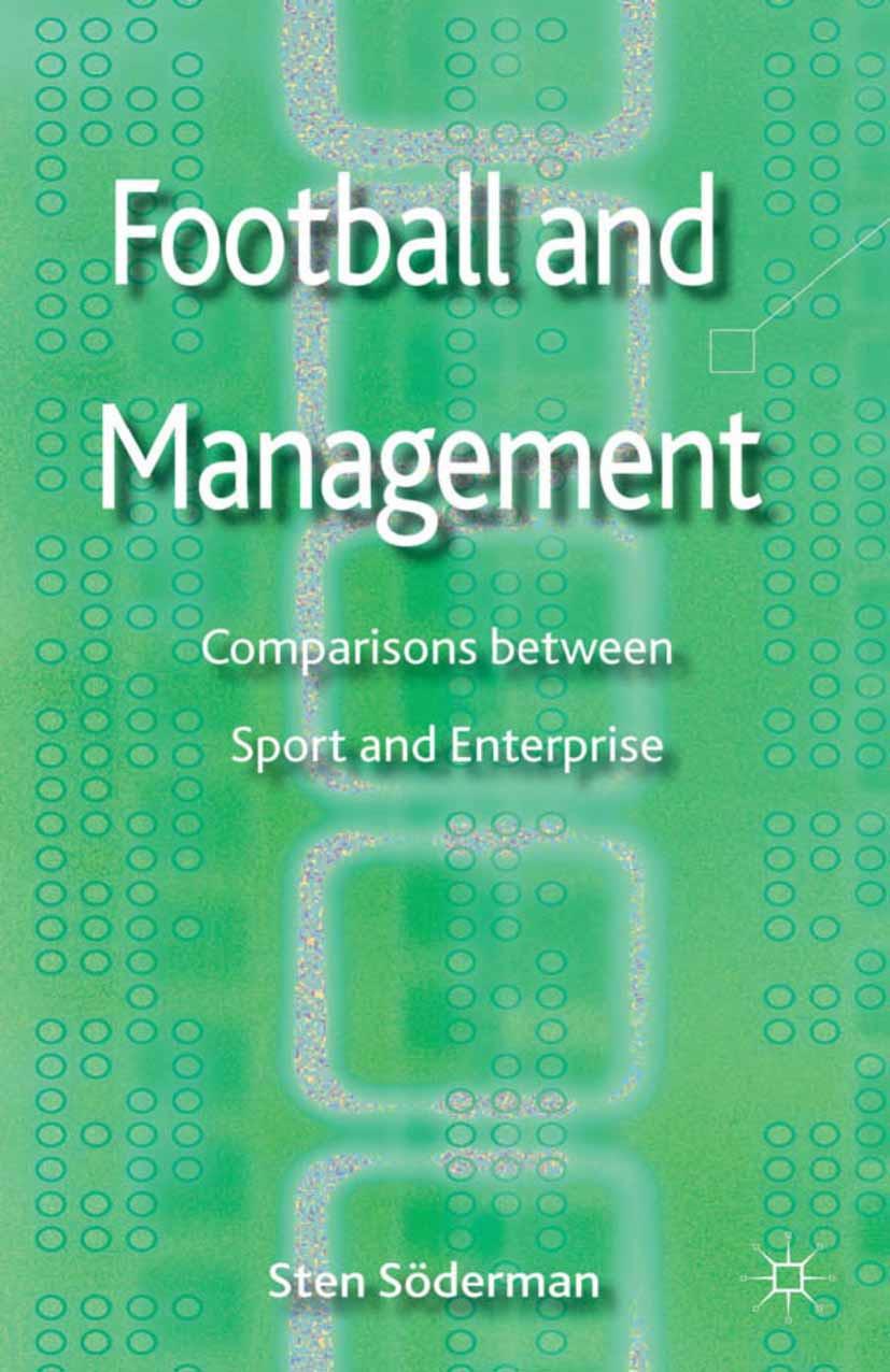 Söderman, Sten - Football and Management, ebook