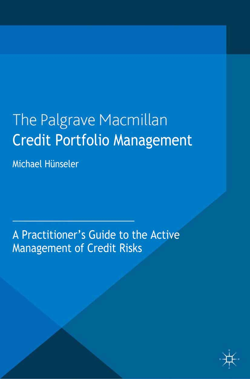 Hünseler, Michael - Credit Portfolio Management, ebook