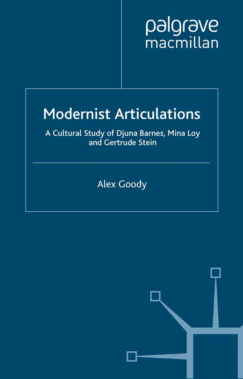 Goody, Alex - Modernist Articulations, ebook