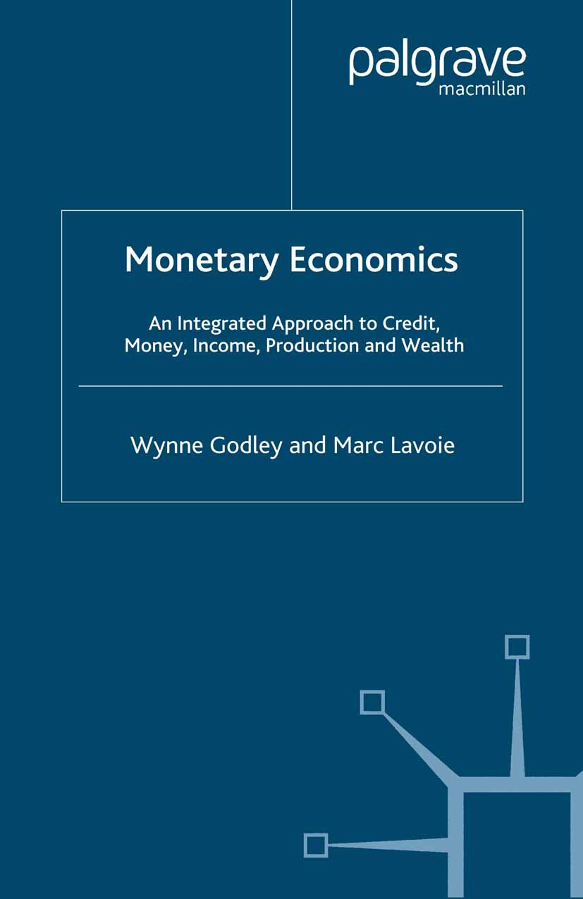 Godley, Wynne - Monetary Economics, ebook