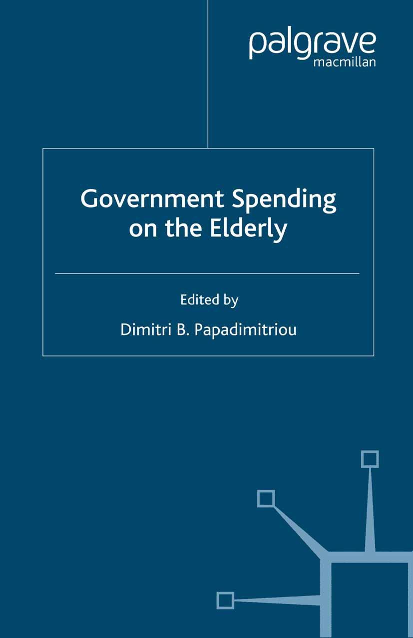 Papadimitriou, Dimitri B. - Government Spending on the Elderly, ebook