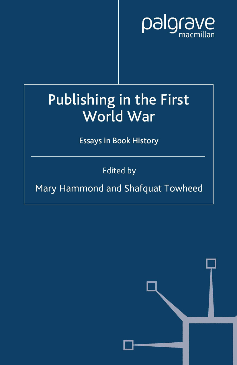 Hammond, Mary - Publishing in the First World War, ebook