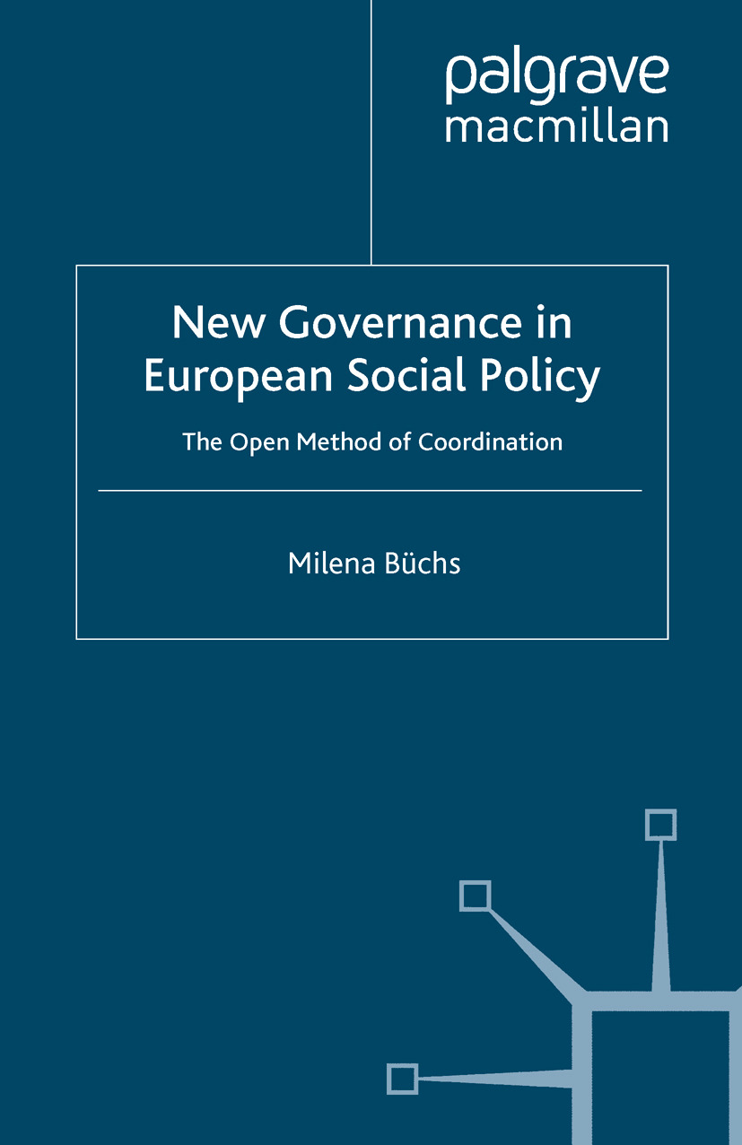 Büchs, Milena - New Governance in European Social Policy, ebook