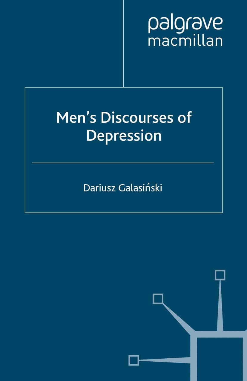 Galasiński, Dariusz - Men's Discourses of Depression, ebook