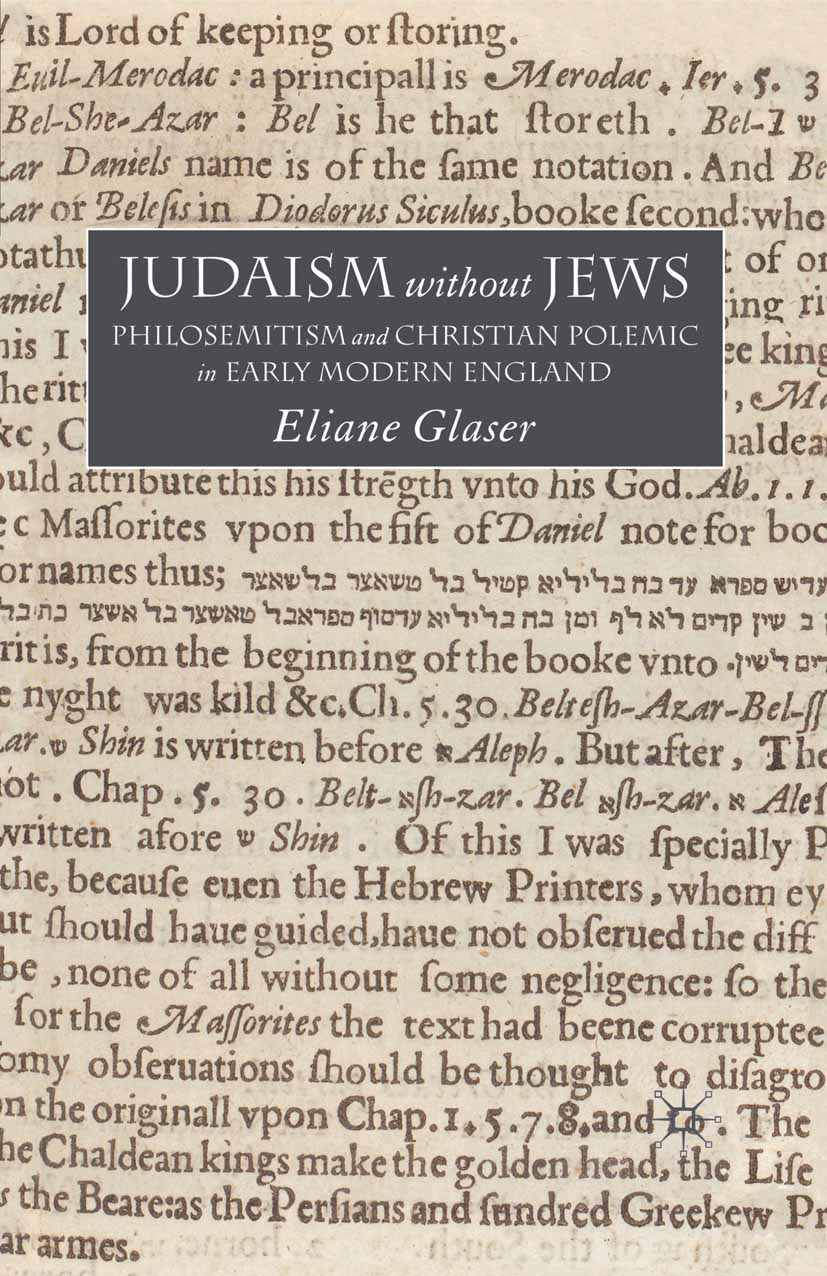 Glaser, Eliane - Judaism without Jews, ebook