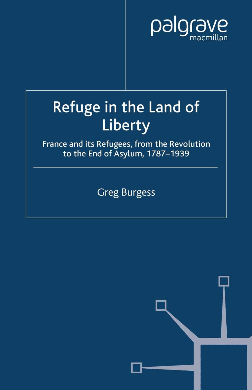 Burgess, Greg - Refuge in the Land of Liberty, ebook