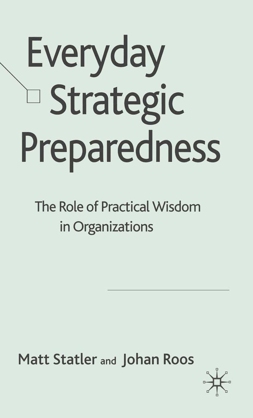 Roos, Johan - Everyday Strategic Preparedness, ebook