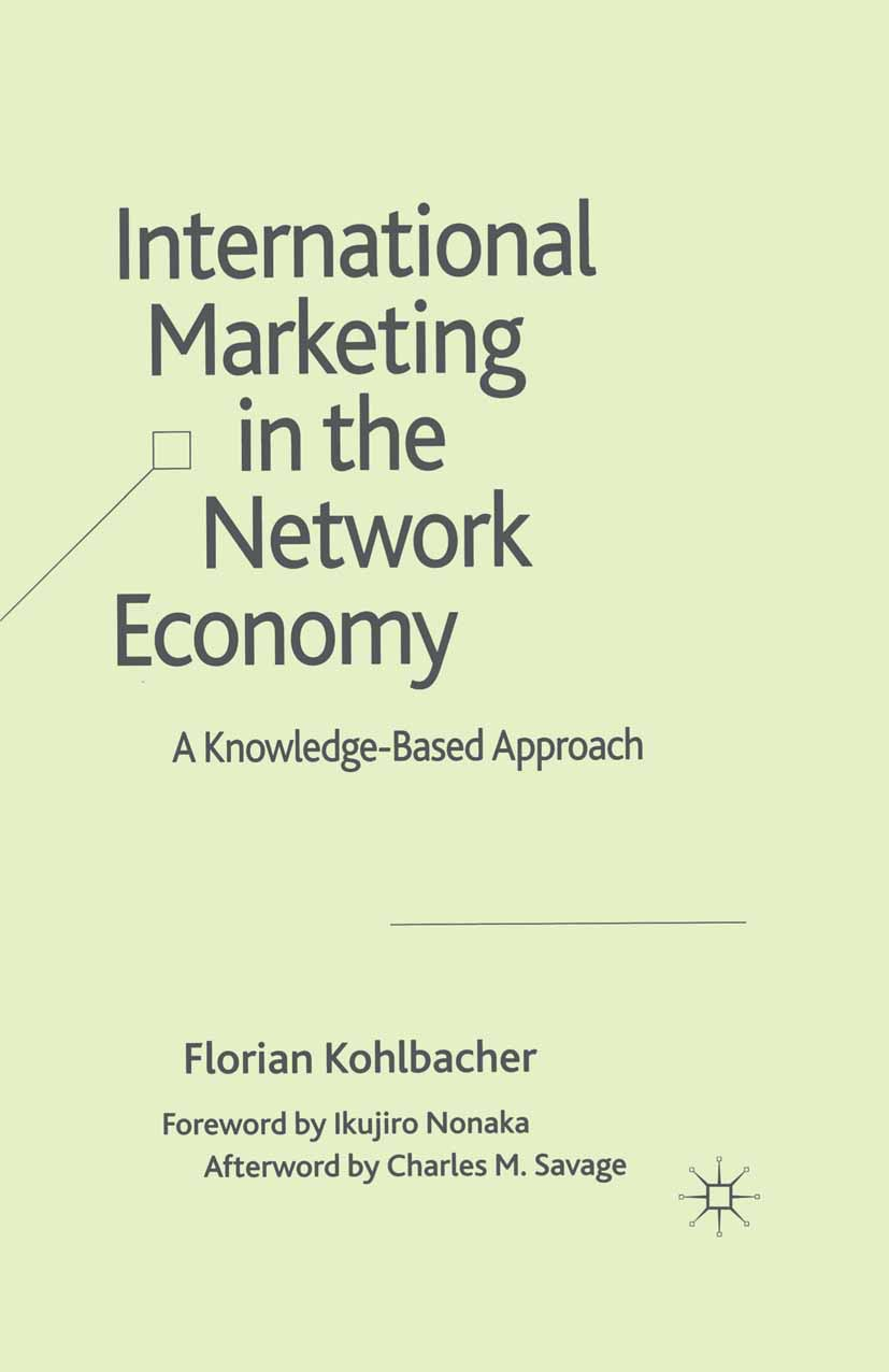 Kohlbacher, Florian - International Marketing in the Network Economy, ebook