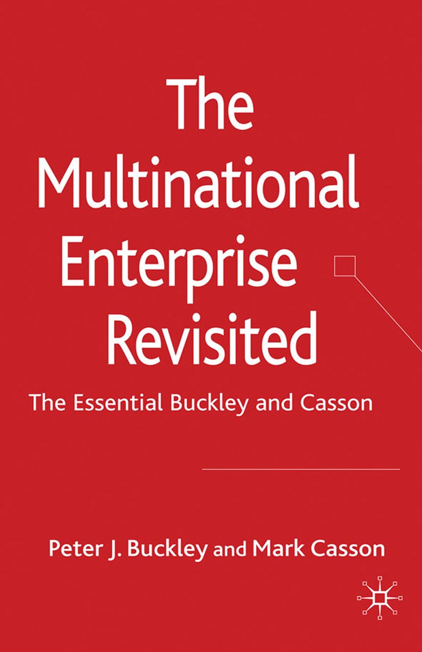 Buckley, Peter J. - The Multinational Enterprise Revisited, ebook