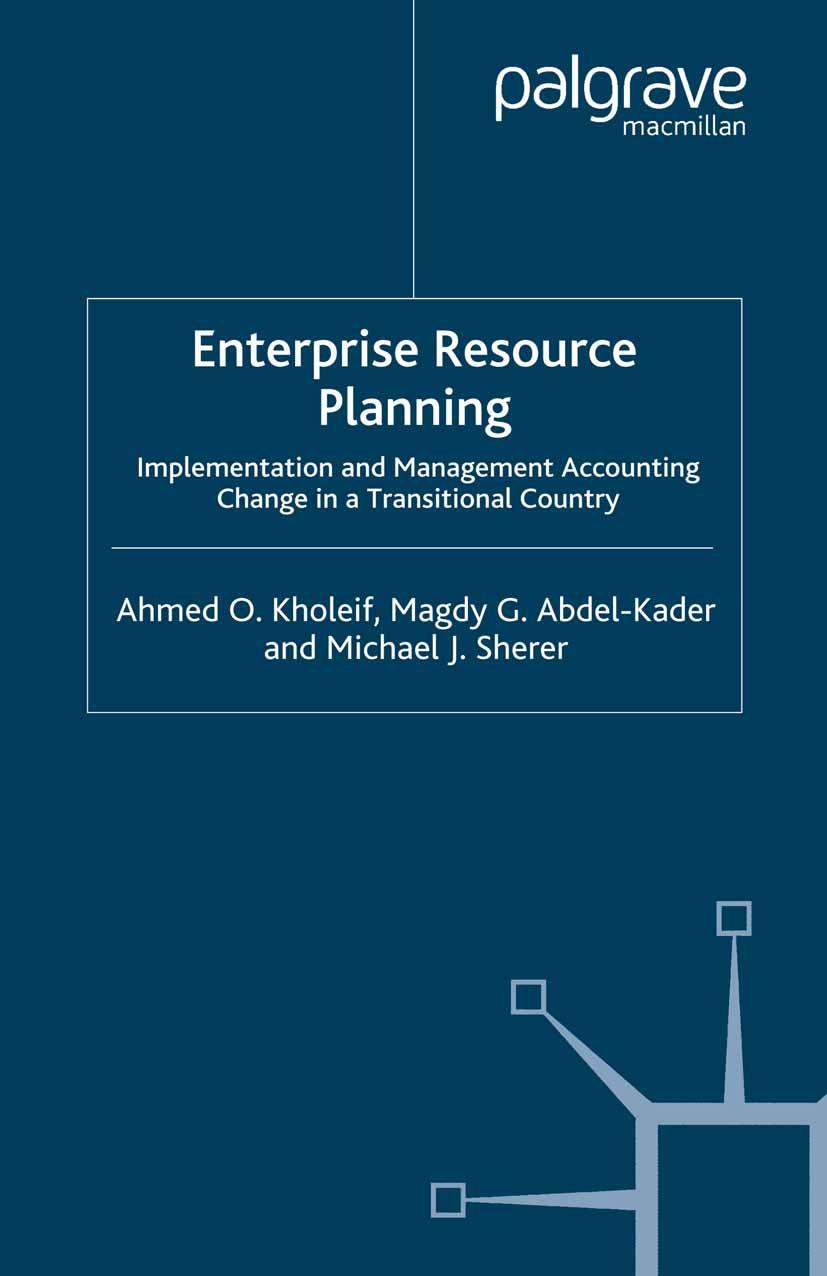 Abdel-Kader, Magdy G. - Enterprise Resource Planning, ebook