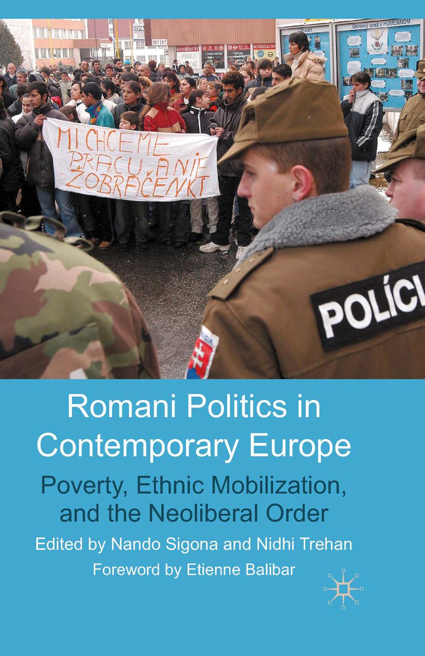 Sigona, Nando - Romani Politics in Contemporary Europe, ebook